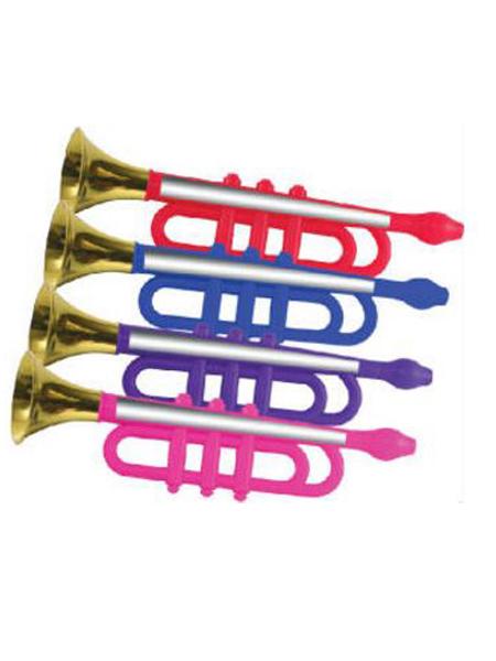 13 inch metalic trumpet -WEB
