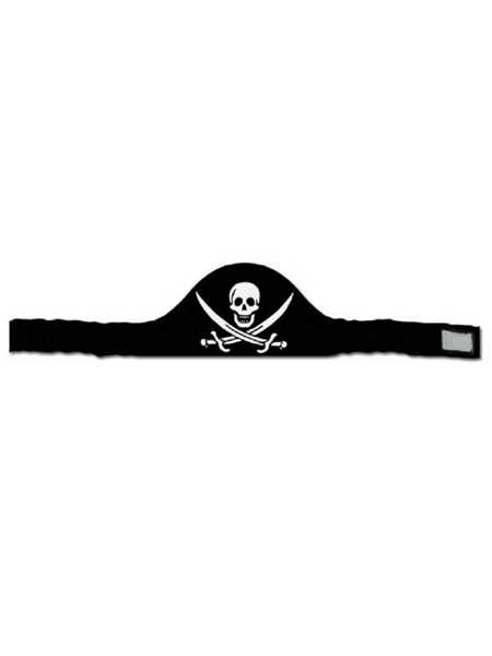 26 inch pirate headband -WEB